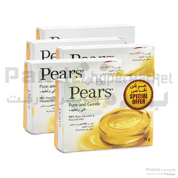 Pears Soap Amber 75gX5pcs