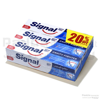 Signal Toothpaste Cavity Fighter 100gmX3pcs