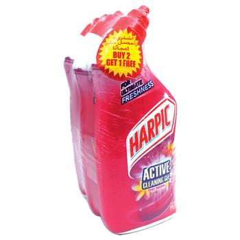 Harpic Active Cleaning Gel Pot Pourri 500mlX3pcs