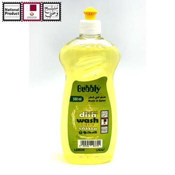 Bubbly Dish Wash Tra Lemon 500ml