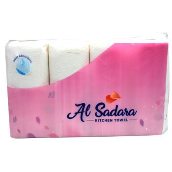 Al Sadara Kitchen Towel 65Sheets 4Rolls