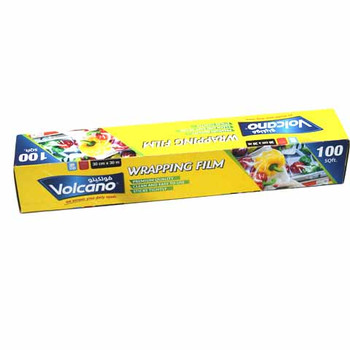 Volcano Wrapping Film 100 SQ.FT