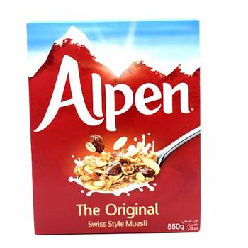 Alpen Original Cereals 550gm