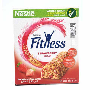 Fitness Strawberry cereals bar Mp(6X23.5G) N8 Sa