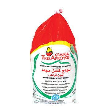 Granja Tres Frozen Whole Chicken 1000gm