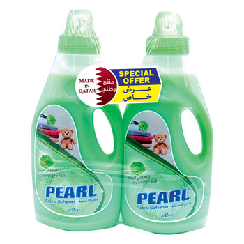 Pearl Fabric Softner Spring Flesh 2Lx2pcs