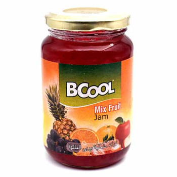 Bcool Jam Mix Fruit 450gm
