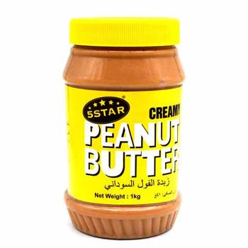 5 Star creamy Peanut Butter 1kg