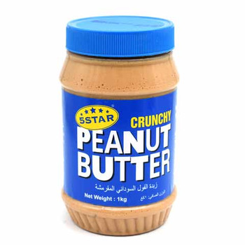 5 Star Crunchy Peanuts Butter 1Kg