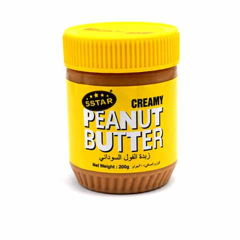 5 Star Peanut Butter 200gm