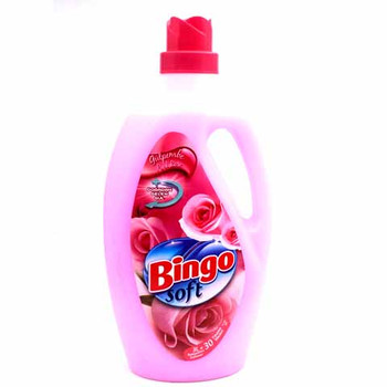 Bingo Soft Spring Fabric Conditioner Freshness 3 Ltr
