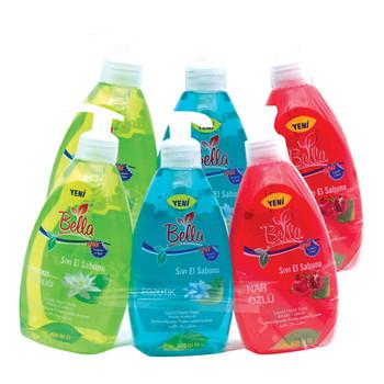 Bella Hand Wash Asstd 400mlX3