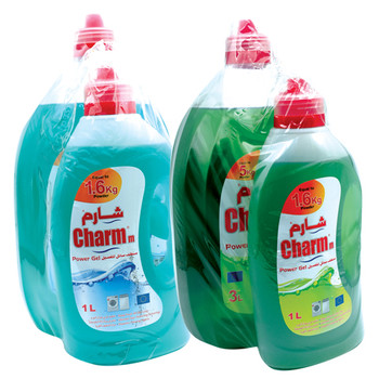 Charmm Liquid Detergent 3Ltr+1Ltr
