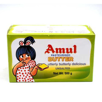 Amul Unsalted Butter 500gm