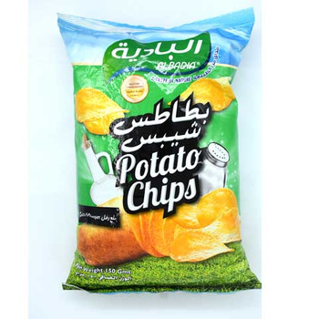 Albadia Potato Chips Salt & Vinegar Flvr 150Gms