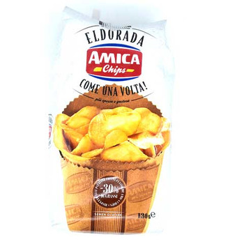 Amica Eldorada Chips-Come Una Volta (Salted)130gm