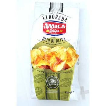 Amica Eldorada Chips-Olio Di Oliva (Olive Oil)130gm