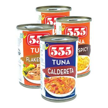 555 Tuna Asstd 155gmx4pcs