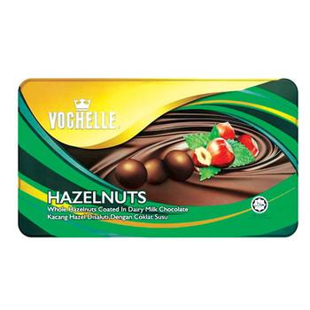 Vochelle Gift Covered Hazelnut 380Gm Tin