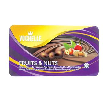 Vochelle Gift Coverd Fruit&Nut 380Gm Tin