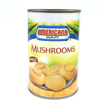 Americana Mushroom Whole 425gm