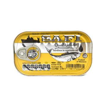 Safi sardines in veg oil 125g