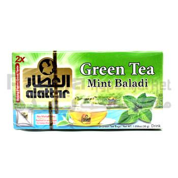 Alattar Greenteamint teabag 25?ÆS37.5G