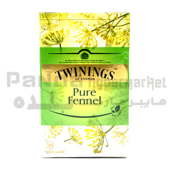 Twinings  Pure Fennel Teabags  20s