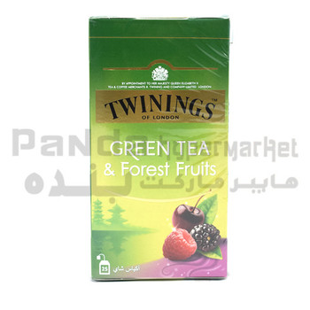 Twinings Green Tea And Forest Fruits 25 Tbs