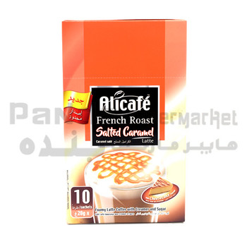 Alicafe French Roast Salted Caramel Latte 20g