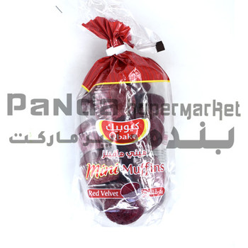 Qbake Red Velvet Mini Muffins