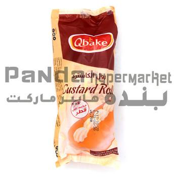 Qbakes custard Rolls