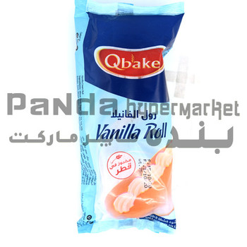 Qbakes Vanilla Roll