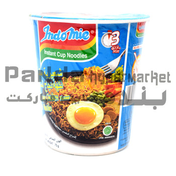 Indomie Cup Noodles Fried Bbq Chickn 75Gm