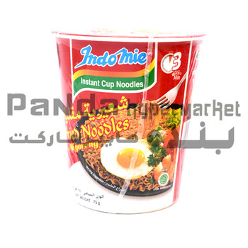 Indomie Cup Noodles Fried Original 70Gm