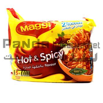 Maggi 2 Minn Hot & Spicy 78gX5