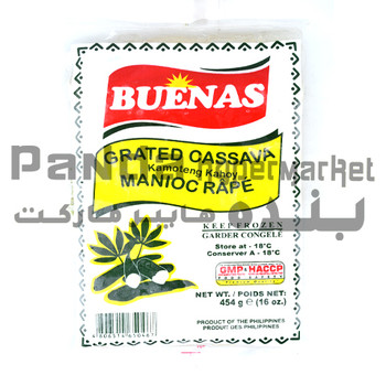 BUENAS GRATED CASSAVA 454 G