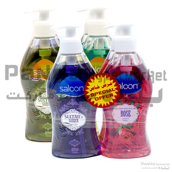 Saloon Hand Wash 400MlX4Pcs