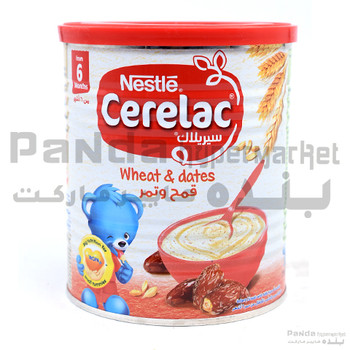 Nestle Cerelac Wheat Dates Baby food 400gm