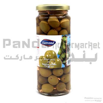 Diamond Green Olives Plain 198gm