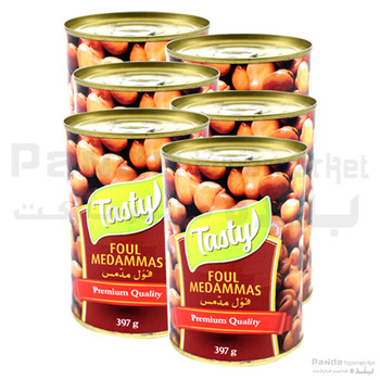 Tasty Canned Broad Beans 397gmX6pcs