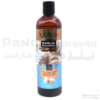Aqua Vera Herbal Blend Shamoo / Garlic  400ml