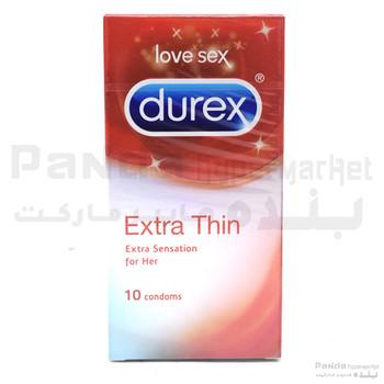 Durex CondomExtra Thin 10Pcs X 1Pkt.