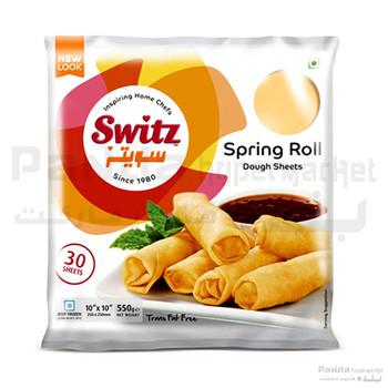 Switz Spring Roll Sheet(10x10)550Gm