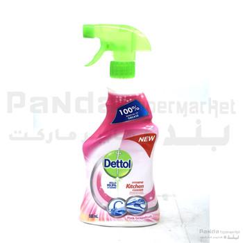 Dettol Power Kitchen Cleaner Pink Grapefruit 500ml