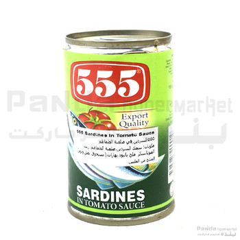 555 Sardines Green 155gm