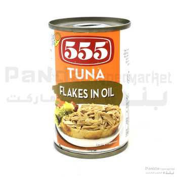 555 Tuna Flakes Vegitable Oil-155gm
