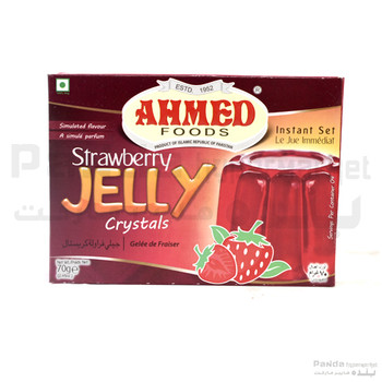 Ahmed Jelly Strswberry Crystals 70gm