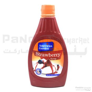American garden Strawberry Syrup 680gm