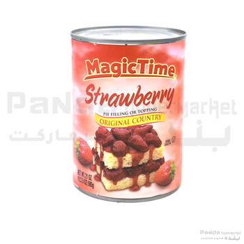 Magic Time Strawberry Pie Filling 595gm